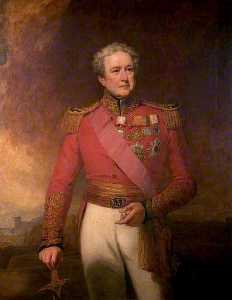 George Clint - Major General Sir Robert Henry Sale, Second Light Infantry