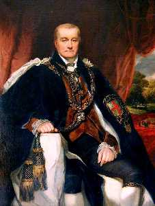 George Clint - George John, 2nd Earl Spencer, First Lord of the Admiralty