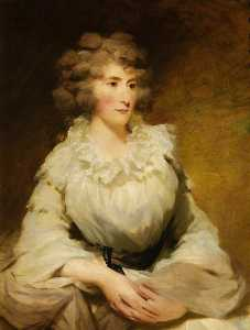 Henry Raeburn Dobson - Mrs Charles Gordon, née Christian Forbes of Ballogie, Wife of Charles Gordon of Buthlaw, Lonmay and Cairness