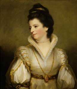 Henry Raeburn Dobson - Jane (1748–1812), Duchess of Gordon, Wife of Alexander, 4th Duke of Gordon (after Joshua Reynolds)