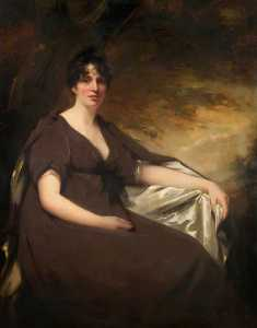 Order Oil Painting : Mrs Hay of Spott by Henry Raeburn Dobson | WahooArt.com
