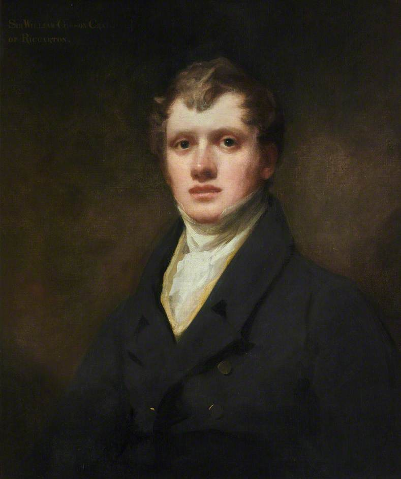 Order Famous Paintings Reproductions : Sir William Gibson Craig (1797–1878) by Henry Raeburn Dobson | WahooArt.com