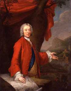 Thomas Bardwell - John Campbell, 2nd Duke of Argyll and Duke of Greenwich