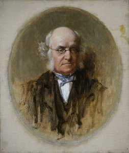 George Agnew Reid - Dr John Brown (1810–1882), Physician and Author of 'Rab and his Friends'