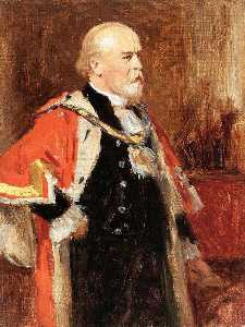 George Agnew Reid - Sir James Hoy, Lord Mayor of Manchester
