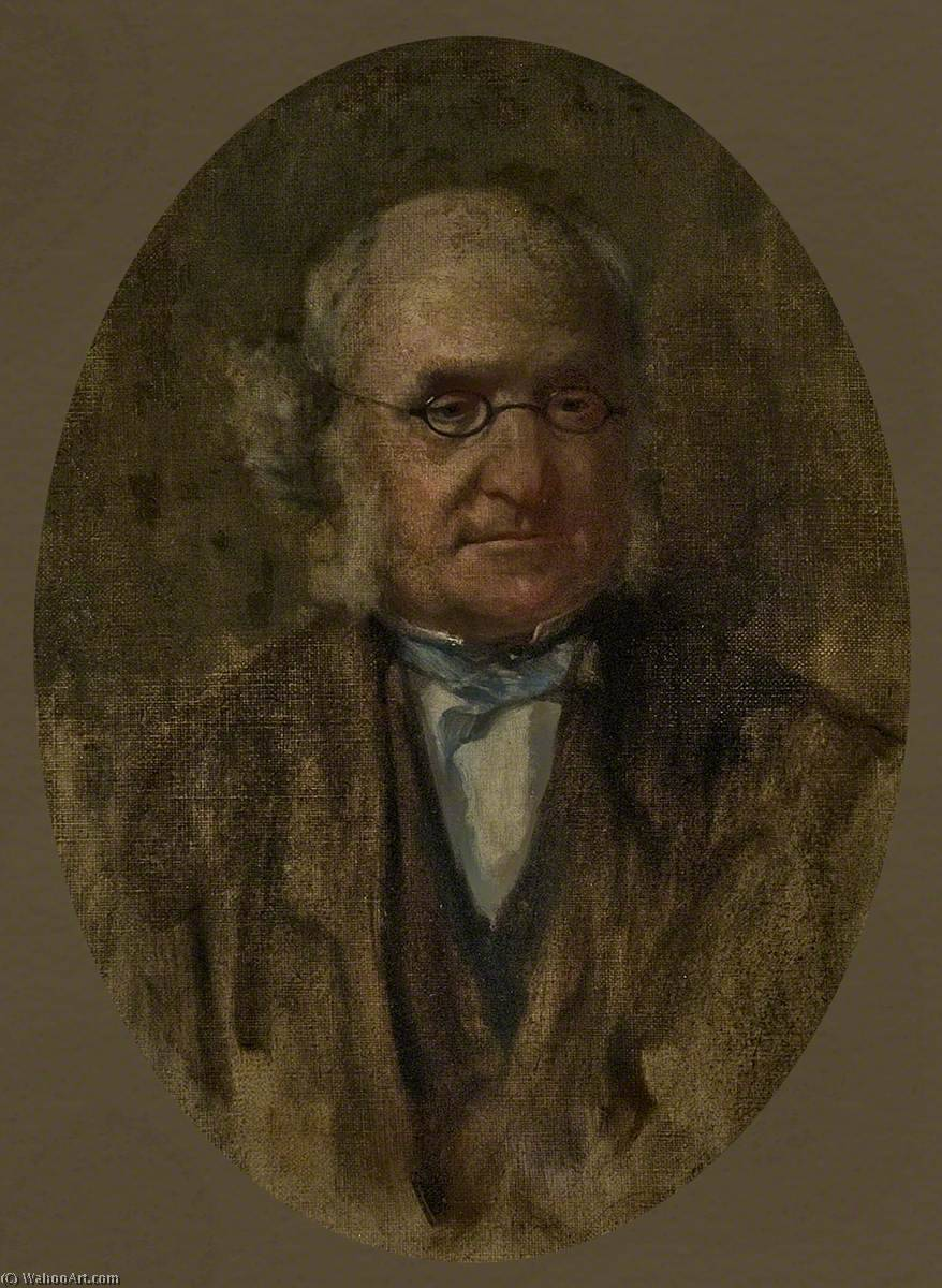 Study of 'Portrait of Dr John Brown (1810–1882), RCPE' by George Agnew Reid (1860-1947, Canada) | WahooArt.com