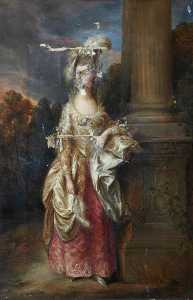 George Agnew Reid - The Honourable Mrs Graham (after Thomas Gainsborough)