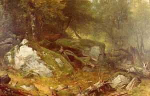 Asher Brown Durand - After the Storm, (painting)