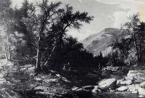 Asher Brown Durand - Kaaterskill Clove, (painting)