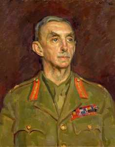 Henry Lamb - Lieutenant General Sir William Dobbie (1879–1964), GCMG, KCB, DSO