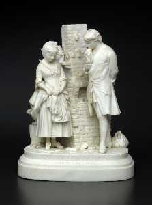 Daniel Chester French - Joe-s Farewell