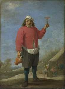 David The Younger Teniers - Autumn