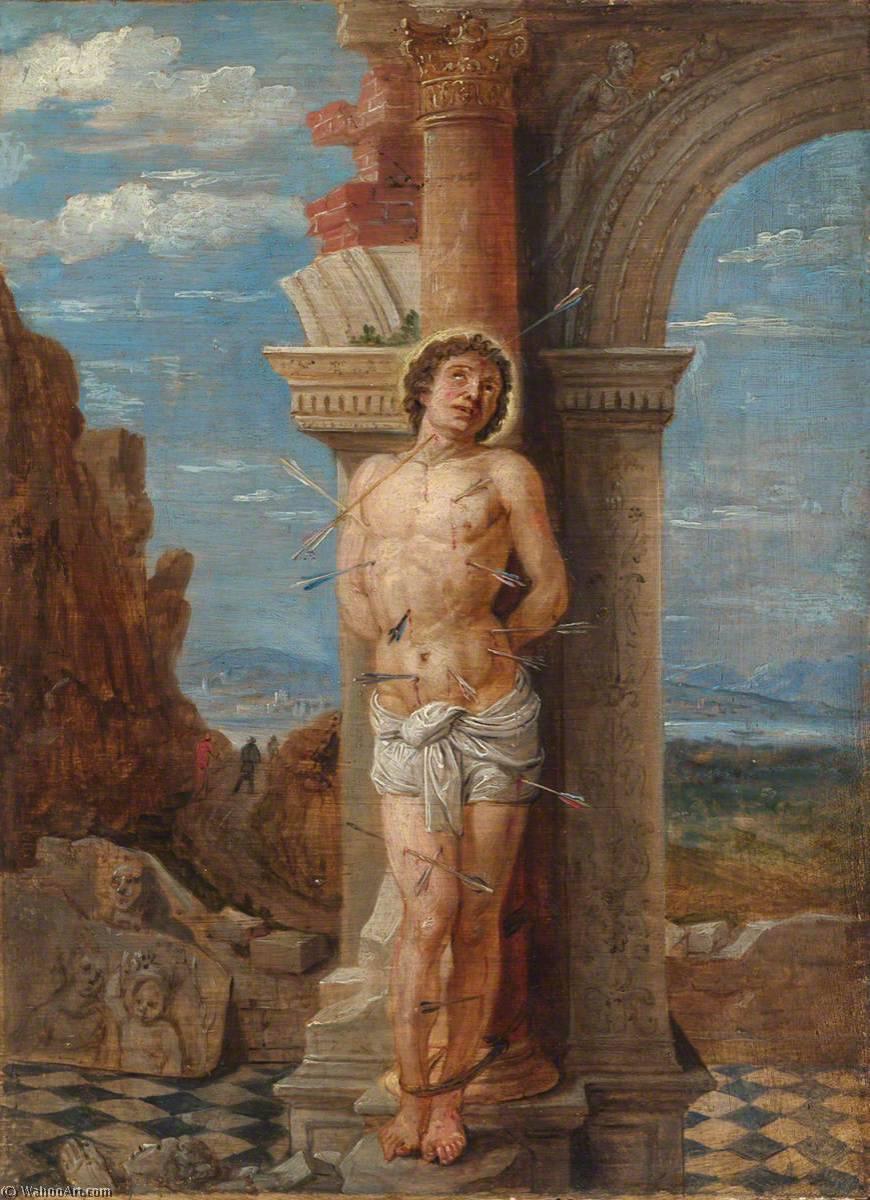 Saint Sebastian (after Andrea Mantegna), 1656 by David The ...