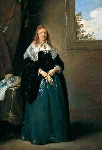 David The Younger Teniers - Portrait of a Lady