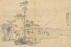 Hua Yan - LANDSCAPE AND FIGURES