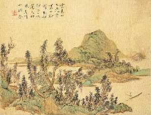 Hua Yan - LANDSCAPE, FIGURES, AND ANIMALS