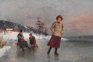 Axel Hjalmar Ender - The Ice Rink