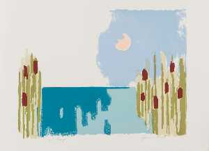 Herman Maril - Untitled (Cattails)