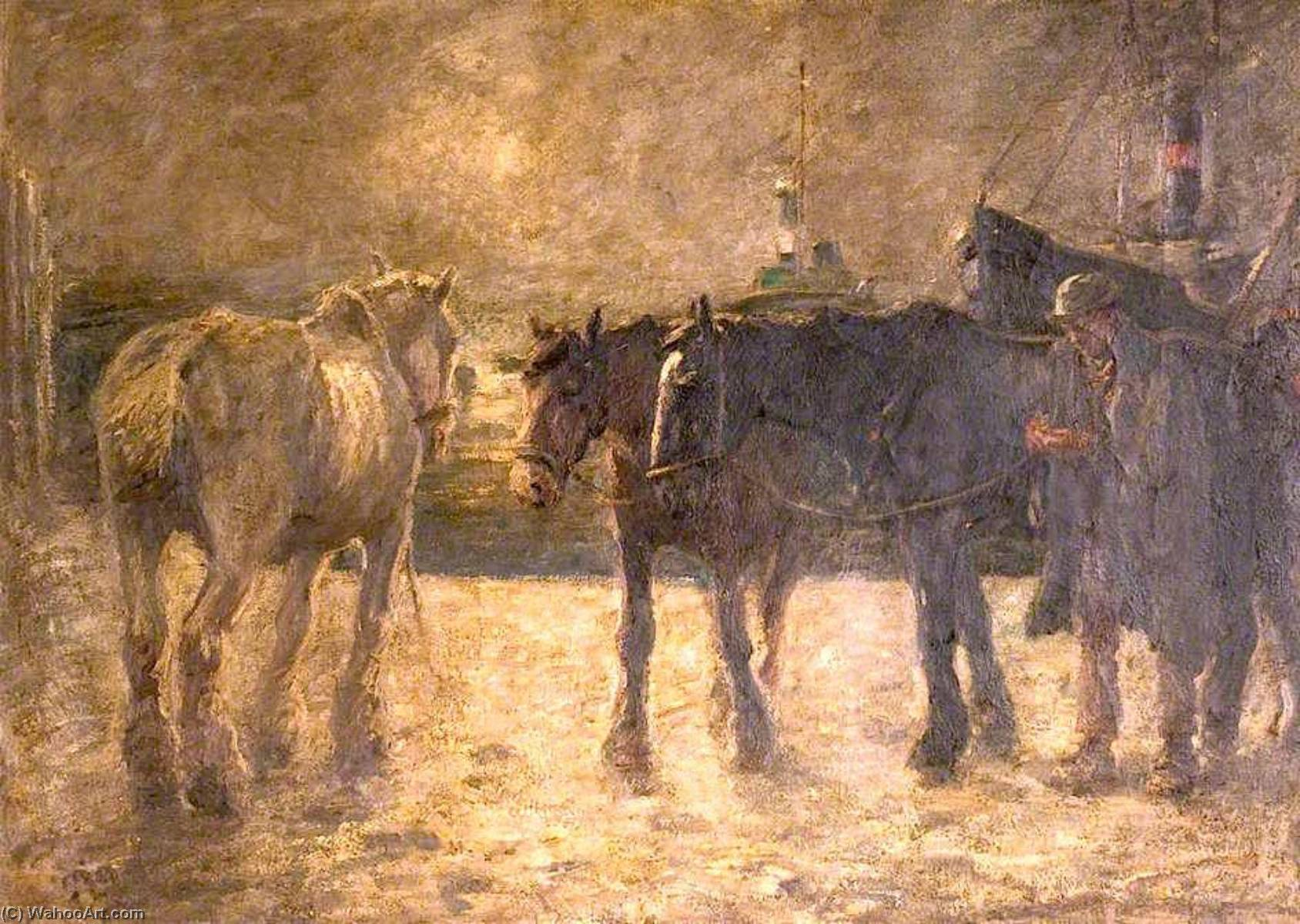 The Last Journey by Harry Fidler (1856-1935, United Kingdom) | Museum Quality Reproductions | WahooArt.com