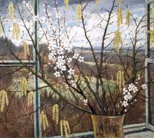 Christopher Richard Wynne Nevinson - View of the Sussex Weald