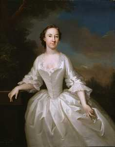 John Wollaston - Portrait of Lucy Parry, Wife of Admiral Parry