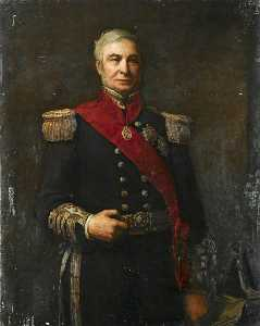Walter William Ouless - Admiral Sir Alexander Milne (1808–1896)