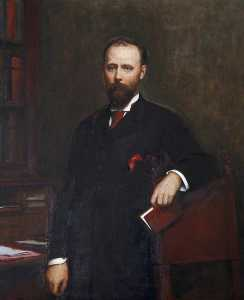 Walter William Ouless - Thomas Charles Reginald Agar Robartes (1844–1930), 2nd Lord Robartes and 6th Viscount Clifden