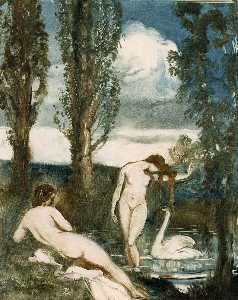 Albert Edward Sterner - The Bathers