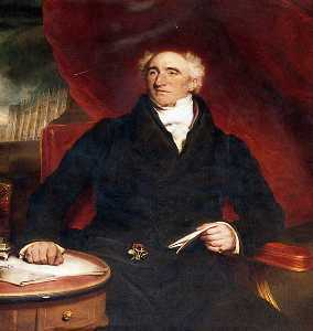 Martin Archer Shee - Thomas Poynder Junior, Treasurer of Christ-s Hospital (1824–1835)