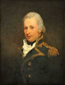 Martin Archer Shee - Portrait of a Naval Captain
