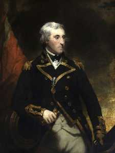 Martin Archer Shee - Vice Admiral Sir William George Fairfax (1739–1813)