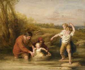 William Mulready The Younger - The First Voyage