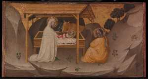 Puccio Di Simone - The Nativity