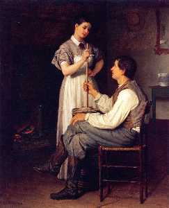 Enoch Wood Perry - The Helping Hand