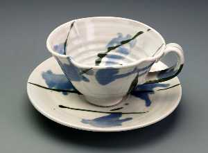 Betty Woodman - Teacup and Saucer