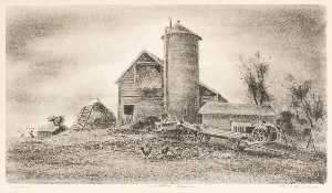 Arnold Blanch - Another Farm