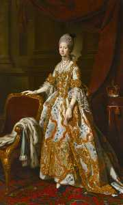Nathaniel Dance-Holland - Queen Charlotte of Mecklenburg Strelitz (1744–1818)