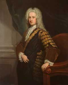 William Aikman - John Hay (c.1695–1762), 4th Marquess of Tweeddale, Lord Justice General for Scotland