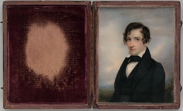 Christopher Grant Perry, 1840 by Richard Morrell Staigg (1817-1881) | Art Reproduction | WahooArt.com