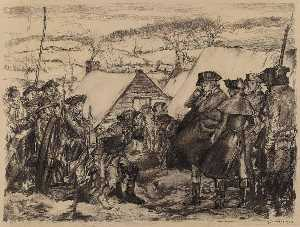 George Wright - Washington at Valley Forge