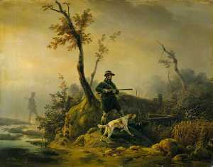 Emile Jean Horace Vernet - Duck Shooting