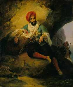 Emile Jean Horace Vernet - Conrad the Corsair