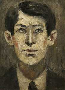 Lawrence Stephen Lowry - Portrait of a Man