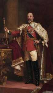 Samuel Luke Fildes - HM King Edward VII (1841–1910), Protector of the Craft