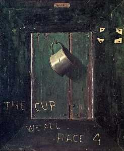 John Frederick Peto - The Cup We All Race For, (painting)