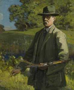 Alfred East - Self Portrait