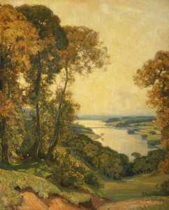 Alfred East - Rivington Water