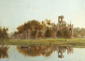 Alfred East - Kirkstall Abbey