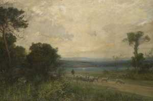 Alfred East - Early Summer Morning