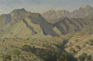 Keith Henderson - The Almijara Foothills, Afternoon